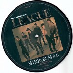 PICTURE- Single- Vinyl, HUMAN LEAGUE - Mirror Man - England 1982