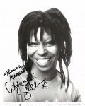 Handsigniertes Foto - WHOOPI GOLDBERG - USA 1987