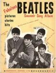 """BEATLES - """"The Fabulous Beatles - Souvenir Song Album"""" - England 1963"""