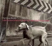 PROMO - CD- Single - PET SHOP BOYS - I don´t know what you want...- Europa 1999