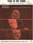 NOTEN - FILMMUSIK - CHARLIE CHAPLIN - England 1966