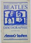 Vintage !! BEATLES - kleines Discographie- Heft - Deutschland, 1976