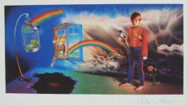 MARILLION - Misplaced Childhood- Covermotiv - HANDSIGNIERTER Fine-Art-Print