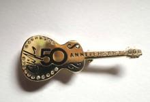 Tour- BROSCHE - CLIFF RICHARD - 50th Anniversary - 2008
