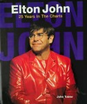 ELTON JOHN - 25 Years In The Charts - Buch aus England 1995