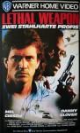 """MEL GIBSON - Original-Unterschrift auf VHS-Cover """"LETHAL WEAPON"""""""