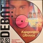 DEBÜT Zeitschrift mit Vinyl - DEPECHE MODE - TOP-Zustand! - Deutschland 1983
