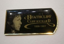 Tour- PIN - CLIFF RICHARD - Heathcliff 1996-1997