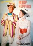 "Wunderbares Souvenir-Programm ""MARY POPPINS"" mit JULIE ANDREWS, 1964"