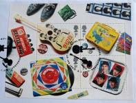 """THE BEATLES - Briefmarkenserie """"MEMORABILIA"""" Royal Mail auf einem FDC - 2007"""