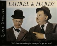 "Buch - LAUREL & HARDY - ""Quote Unquote"" - England, 1994"