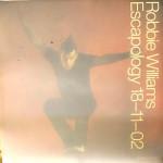 "ROBBIE WILLIAMS - großer PROMO-Window-Sticker - Release ""Escapology"", 2002"