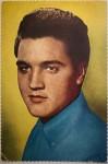 ELVIS PRESLEY - Farb-Postkarte - 50er/60er Jahre
