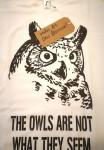 BASTILLE - T-Shirt aus dem Besitz von DAN SMITH - Eule - Größe: M