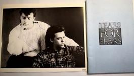 Rarität: TEARS FOR FEARS - Tour - Itinerary von 1985 - PLUS originales AUTOGRAMM !!