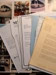 TEARS FOR FEARS - interne Tour-Dokumente um 1985 - PLUS originales AUTOGRAMM !!