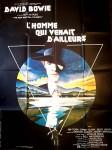 Extrem RAR - DAVID BOWIE - Französisches Original - RIESEN - Filmplakat von 1976