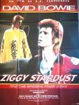 ZIGGY STARDUST - DAVID BOWIE - Original - RIESEN - Filmplakat von 1984
