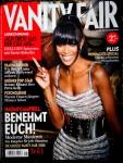 Magazin VANITY FAIR - mit NAOMI CAMPBELL Titelstory