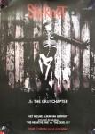 """SLIPKNOT - PROMO-Plakat zum Album """"5. The Gray Chapter"""" - Holland 2014"""
