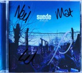 "SUEDE - CD- Album ""the blue hour"" - HANDSIGNIERT !"