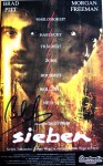 """BRAD PITT - Original-Unterschrift auf VHS- Cover """"Sieben"""""""