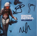 "CD - SNOW PATROL - ""Wildness"" - HANDSIGNIERT !!!"