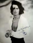 Foto - JOHNNY DEPP - mit reproduziertem Autogramm