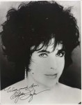 Foto - ELIZABETH TAYLOR - mit reproduziertem Autogramm