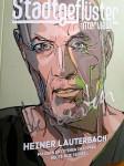 """Magazin """"STADTGEFLÜSTER"""" - HANDSIGNIERTER Titel von HEINER LAUTERBACH"""