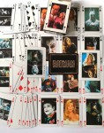 Spielkarten - BATMAN - JACK NICHOLSON - KIM BASINGER - MICHAEL KEATON - 1989