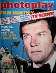 """ROGER MOORE - Titelheld der """"photoplay"""" von 1977 - JAMES BOND / 007"""