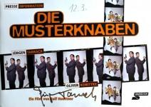 """JÜRGEN TARRACH - seltenes HANDSIGNIERTES Presseheft """"Die Musterknaben"""""""