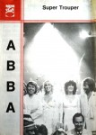 "Seltenes Notenblatt - ABBA - ""Super Trouper"" - 1980"