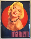 "Altes TABLETT mit MARILYN MONROE- Motiv - ""Made in Italy"" - ca. 70er Jahre"