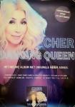 """CHER - Holländisches PROMO-POSTER für Release von """"Dancing Queen"""""""