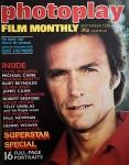 "Magazin - CLINT EASTWOOD auf dem Cover der ""photoplay"" - England 1975"