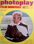 """Magazin - ROBERT REDFORD auf dem Cover der """"photoplay"""" - England - 1975"""