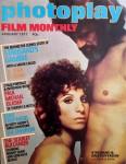 """Magazin - BARBRA STREISAND auf dem Cover der """"photoplay"""" - England, 1977"""