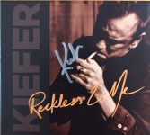 "KIEFER SUTHERLAND - CD ""Reckless & Me"" - HANDSIGNIERT !!"