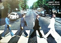 "THE BEATLES - Poster ""Abbey Road"" - KULT-MOTIV !"