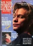 JON BON JOVI - Coverstory der MUSIK EXPRESS - 1/1993