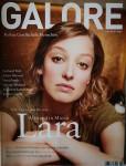ALEXANDRA MARIA LARA auf dem Cover der GALORE - 2006