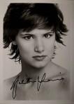 Foto - JULIETTE LEWIS mit reproduziertem Autogramm