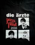 Tour- T-Shirt --  DIE ÄRZTE  - JAZZ FÄST von 2008