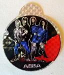 Rarität: ABBA- Aufkleber - original aus den 70er Jahren !! (rund,2)