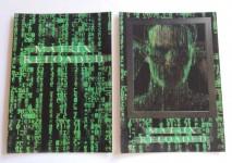 KEANU REEVES - SET aus 2 Lenticular - Postkarten - MATRIX Reloaded - 2003