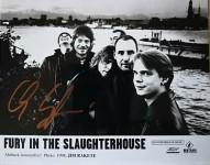 FURY IN THE SLAUGHTERHOUSE - Promofoto - HANDSIGNIERT von Christof Stein-Schneider ! (1)