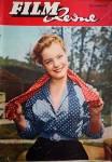 """ROMY SCHNEIDER auf dem Cover der """"FILM REVUE"""" von 1955"""