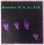 "THE BEATLES - Programm im LP-Format ""Beatles {U.S.A.} Ltd.""-  1964"